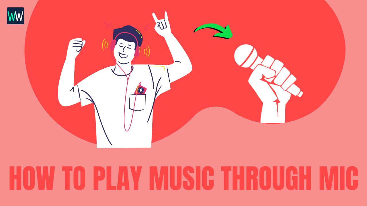 how-to-play-music-through-mic